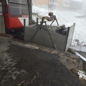 Anlieferung Bergbahn1